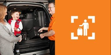Luggage Assistance from your car